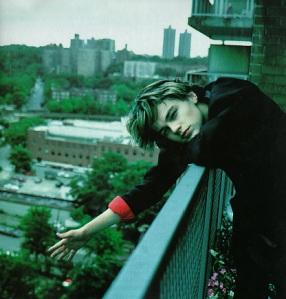 Leonardo DiCaprio muy jovencito.